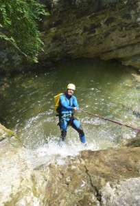 Canyoning Abseilen