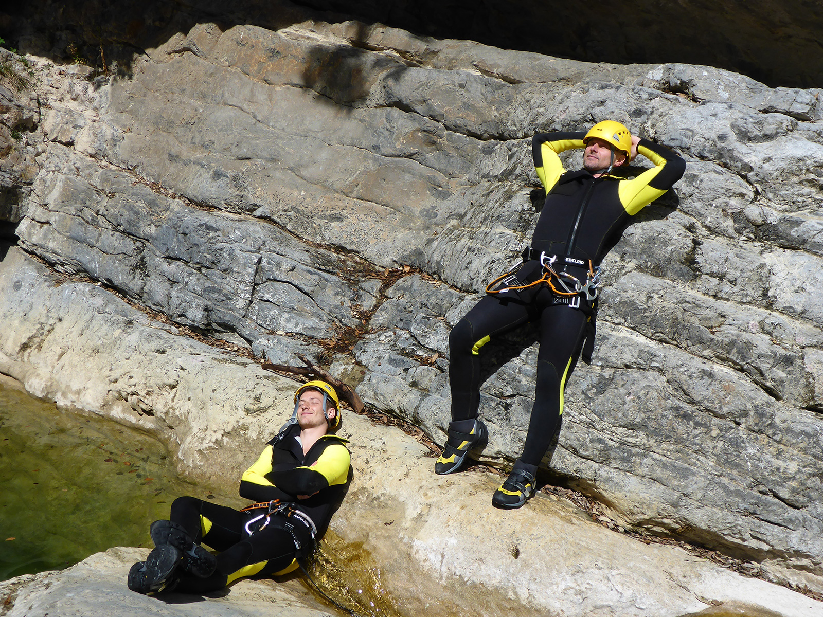 Canyoning Gardasee junggesellenabschied