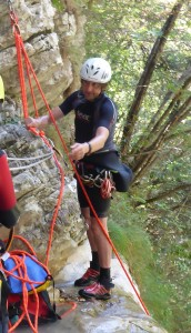 Aquq Thrill Canyoning Guide Peter