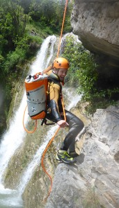Aqua Thrill Canyoning Guide Fabian Gromer