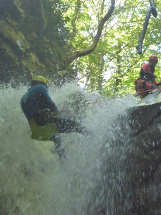 Action Pur canyoning7
