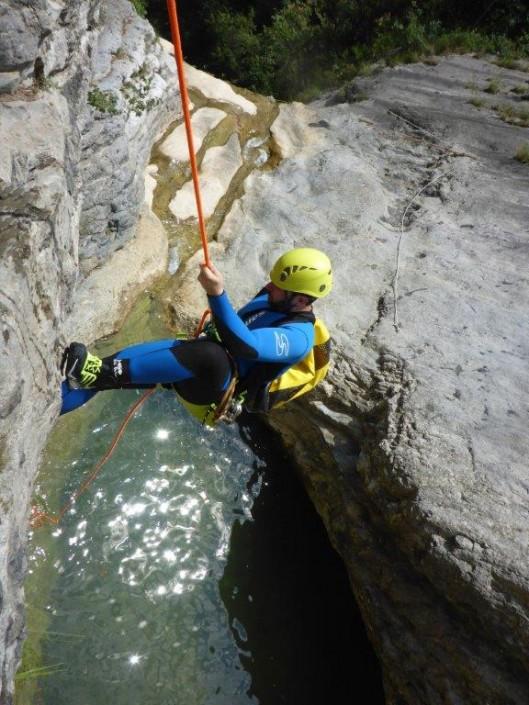 Abseiler Canyoning Gardasee