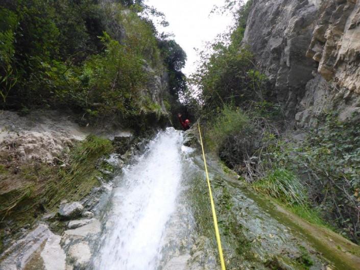 Canyoning Gardasee abseilen