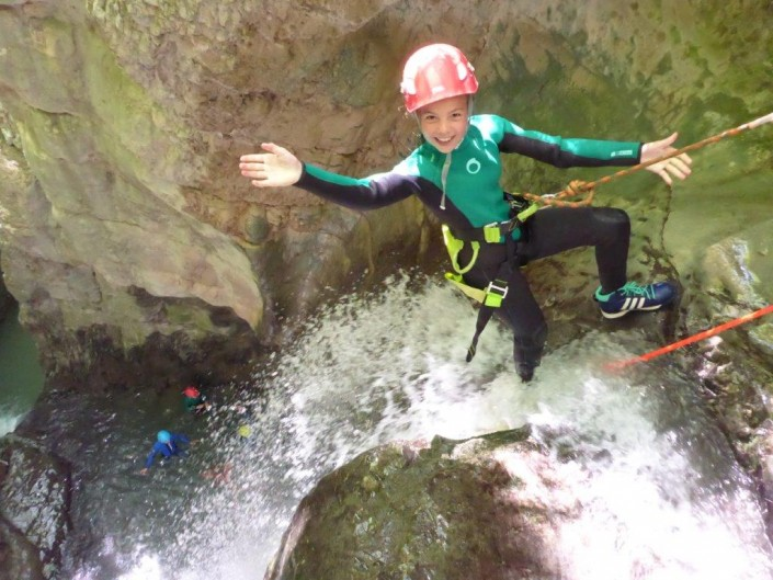 Canyoning Kids Pur