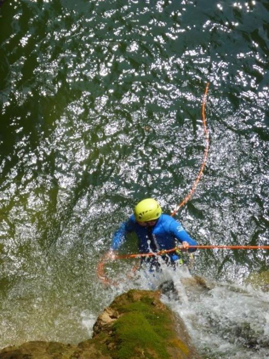 Canyoning Gardasee Vione Extrem seil