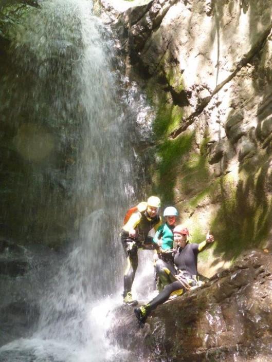 Canyoning Family Pur Gardasee